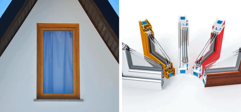 رنگ بندی پنجره دو جداره UPVC